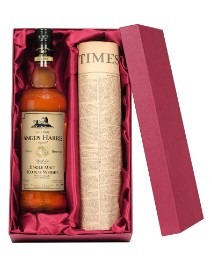 Personalised Birthday Whisky & Newspaper