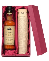 Personalised Whisky & Newspaper