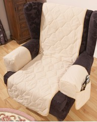 Washable Furniture Covers - Armcaps