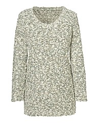 Multi Textured Jumper