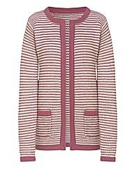 Jacket Style Cardigan