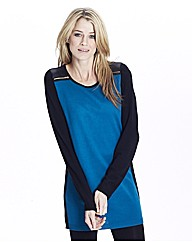 Zip Shoulder Tunic