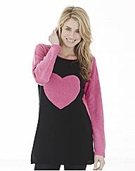 Chenille Heart Tunic