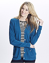 Fully Fashioned V Neck Cardigan