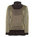 Metallic 2 in 1 Jumper