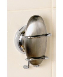 Twist N Lock Metal Soap & Holder