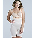 Maidenform Shiny Hi Waist Thigh Slimmer
