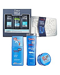 Dove Men and V05 Gift Sets