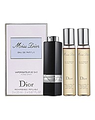 Miss Dior EDP and Refill Set