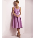 Dress With Detachable Belt Length 43in