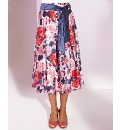 Nightingales Printed Skirt Length 27in