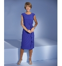 Dress With Rose Trim Length 41in