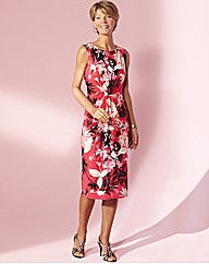 Printed Dress Length 41in