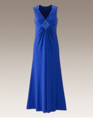 Long Evening Dress Length 53in