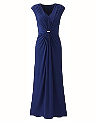 Evening Dress with Silver Trim 53in