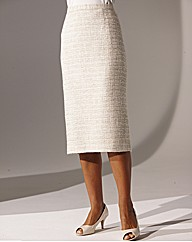 Boucle Skirt Length 25in.