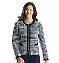 Boucle Jacket With Trim
