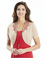Nightingales Beaded Shrug