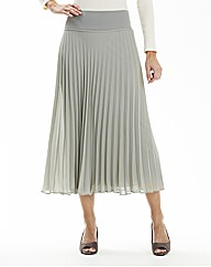 Pleated Skirt Length 32in