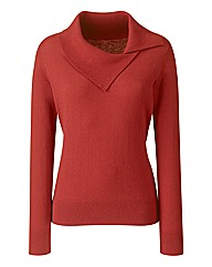 Split Neck Jumper