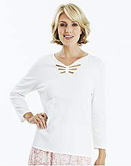 Sweater With Butterfly Cut Out Detail
