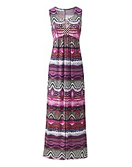 Ikat Jewelled Beaded Dress