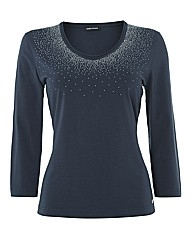 Gerry Weber Stud Drizzle Top
