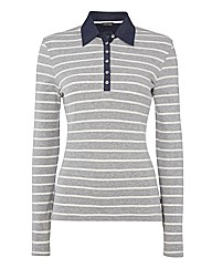 Gerry Weber Stripe Polo Top