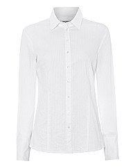 Gerry Weber Self-stripe White Shirt