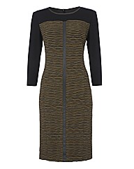 Gerry Weber Ripple Jacquard Dress