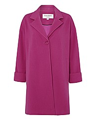 Helene Berman Wool & Cashmere-blend coat