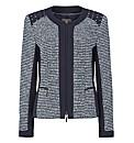 Gelco Tweed & Mock Suede Jacket