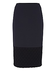 Frank Walder Ponte Pencil Skirt