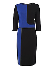 Frank Walder Panels Jersey Dress