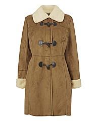Gray & Osbourn Mock Suede Coat