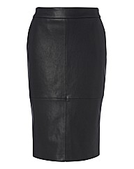 Olsen Mock Leather Pencil Skirt