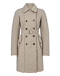 C.O.V.E.R Mid Length Quilt Coat