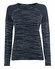 Olsen Striped Knit Jumper