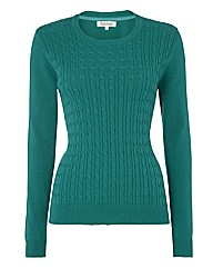 Tulchan Cable-front Cotton Jumper