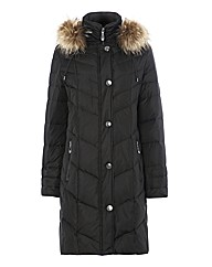 Lebek Quilted Warm Coat