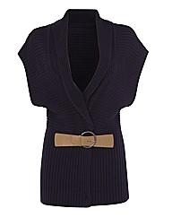 Gray & Osbourn Belt-detail Waistcoat