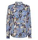 Erfo Floral-print Cotton Blouse
