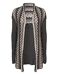Peruzzi Textured Knit Cardigan