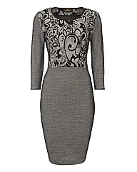 Eugen Klein Jacquard Dress