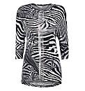 Eugen Klein Fine-knit Zebra Tunic