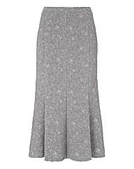 Eugen Klein Jacquard-knit Skirt