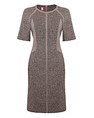 Basler Tweed Shift Dress