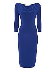 Eve Pollard Cowl Neckline Dress