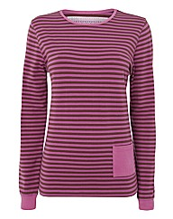 Alice Collins Striped Jersey Top