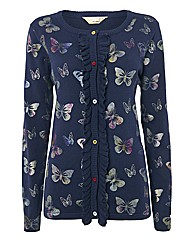 Alice Collins Butterfly Motif Cardigan